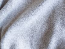 Texture gray sweater background fabric. Texture gray sweater fabric background Stock Photos