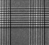 Texture of the gray synthetic fabric checkered Royalty Free Stock Photo