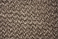 Texture of gray woolen cloth Royalty Free Stock Image