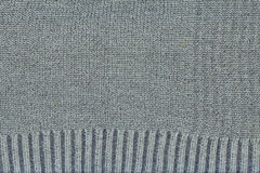Texture of gray woolen fabric Royalty Free Stock Image