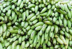 Texture green bananas. Heap of green bananas texture Stock Images