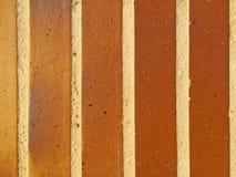 Texture of green bricks Stock Photo