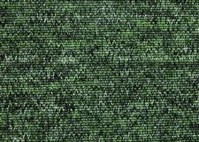 Texture of green carpet coverage Stock Photography