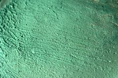 Texture of green concealer, makeup Royalty Free Stock Photo