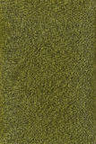 Texture of a green fabric Royalty Free Stock Photos