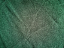 Texture of green fabric Royalty Free Stock Images