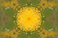 texture green fantasy flower pattern background gradient illustration stock image