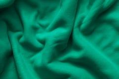 Texture of green fleece royalty free stock image
