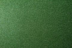 Texture of green glitter paper background royalty free stock images