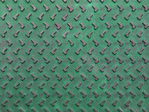 Texture of green and grunge rusty steel plate Royalty Free Stock Image