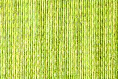 Texture of green placemats Royalty Free Stock Photos