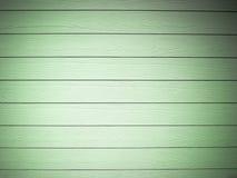 Texture of Green Plank wood wall Horizontal Stock Photo