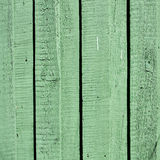Texture of green planks Royalty Free Stock Photo