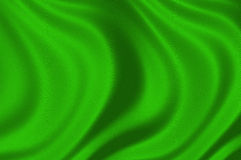 Texture of a green silk illustration Stock Photos