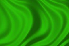 Texture of a green silk illustration stock photos