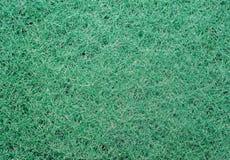 Texture of green synthetic sponge fibers Stock Photos