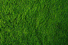 Texture of green terry towel Royalty Free Stock Photos