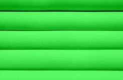 Texture of green water mattress Royalty Free Stock Photo