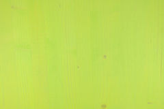 Texture of a green wooden board Stock Images