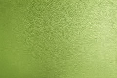 Texture of greenery genuine leather. For background or graphic resources Royalty Free Stock Photos