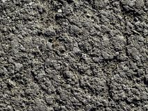 Texture of grey color asphalt royalty free stock image