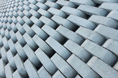 Texture from grey concrete bricks. Royalty Free Stock Photography