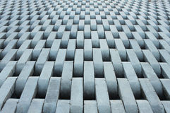 Texture from grey concrete bricks. Stock Photo