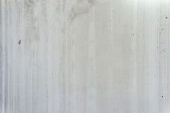 Texture of grey concrete wall with  water marks lines. Royalty Free Stock Image