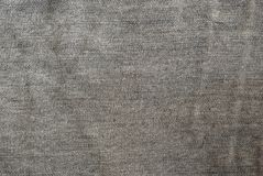 Texture of grey jeans Royalty Free Stock Image