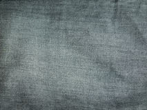 Texture of grey jeans. Background Stock Photos