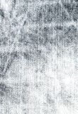 Texture of grey jeans textile close up. Gray denim Stock Photo