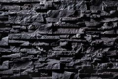 Texture of grey stone wall stock photography