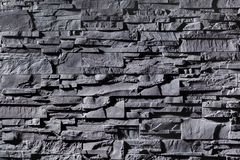 Texture of grey stonewall stock photography