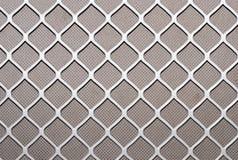 Texture - grille, diamonds Royalty Free Stock Photos