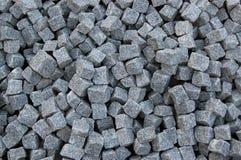 Texture grise carrée de roche Images libres de droits