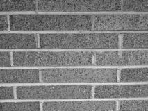 Texture grise de brique Image libre de droits