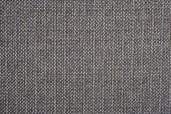 Texture grise de fond d'un tissu rugueux Photos libres de droits