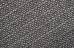 Texture grise de fond d'un tissu rugueux Images stock