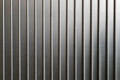 Texture grise de porte en métal Photos libres de droits