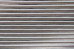 Texture grise de porte en métal Photographie stock libre de droits