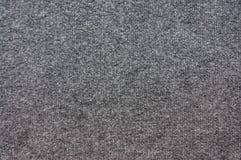 Texture grise de tapis Images stock