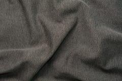 Texture grise de tissu Photo stock