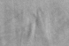 Texture grise de tissu Photographie stock libre de droits