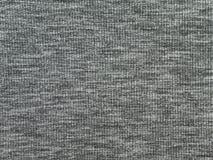 Texture grise de tissu de tricots de Heather Photos stock