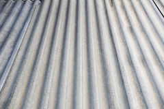 Texture grise de toit d'amiante Photographie stock libre de droits