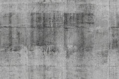 Texture grise sans couture détaillée de mur en béton Photos stock