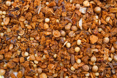Texture of ground spices. And culinary seasoning Stock Image