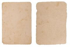 Texture of grunge, ancient paper with age marks Royalty Free Stock Images
