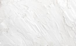 Texture grunge blanche de fond de mur pour votre conception Photo libre de droits
