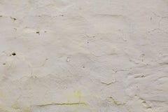 Texture grunge blanche de mur Images libres de droits